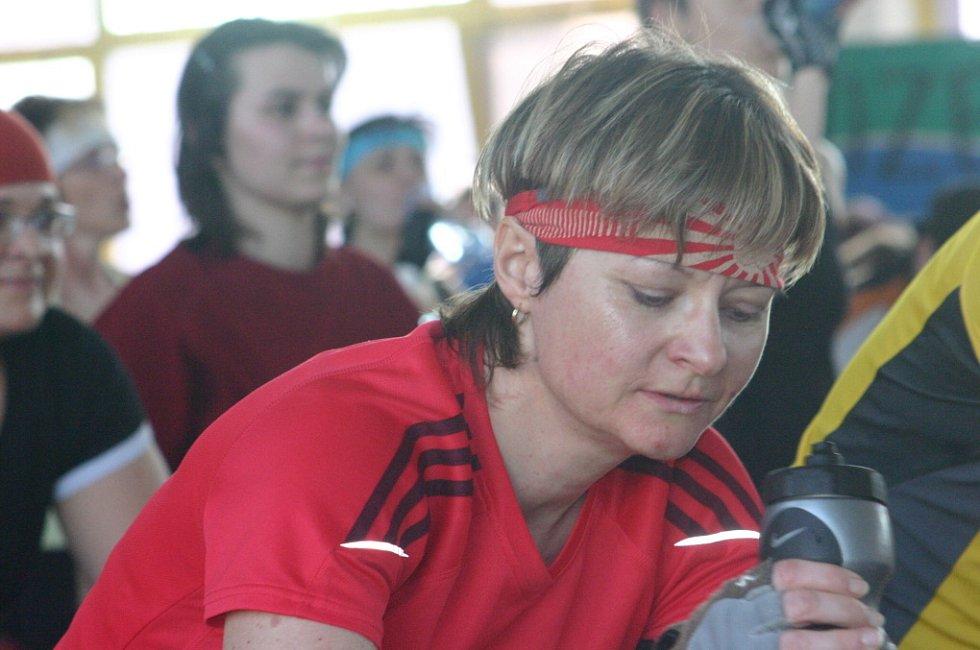 Spinningový maraton v Mladé Boleslavi