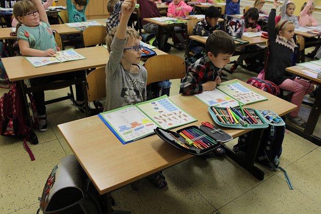 Žáci třídy 1.A