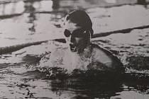 Ing. Leo Stránský, nejúspěšnější plavec oddílu v letech 1974 až 1994