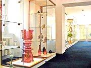 MUZEUM SKLA v Harrachově vystavuje historické a hodnotné exponáty.