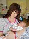 Vojtěch Valenta se narodil 14. července, vážil 3,45 kg a měřil 49 cm. S maminkou Veronikou a tatínkem Michalem bude bydlet Bukovně.
