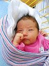 Simona Bugárová se narodila 13. ledna, vážila 3,34 kg a měřila 48 cm. S maminkou Petrou a tatínkem Jakubem bude bydlet v Mladé Boleslavi.