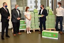 Nadační fond Škoda Auto podpořil Klaudiánovu nemocnici.