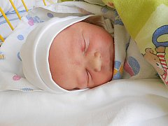 Maxim Lendel se narodil 18. února, vážil 3,47 kg a měřil 51 cm.
