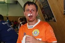 Daniel Picek si z derby odnesl zlomený nos