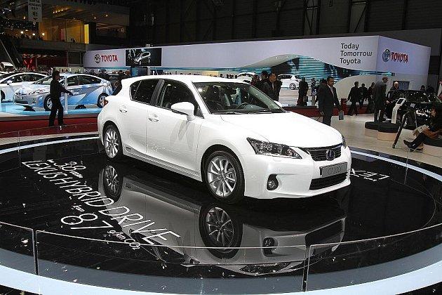 Lexus Hybrid CT200h.