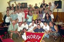 V Pečicích zlomili pivní rekord ve štafetě.