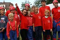Malí hasiči z obce Petkovy