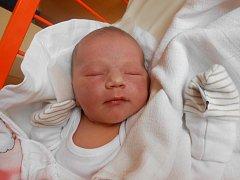 MAGDALENKA Hájková se narodila 26. srpna, vážila 3,71 kilogramů a měřila 51 centimetrů. S maminkou Lucií, tatínkem Jiřím a sestřičkou Anežkou bude bydlet ve Vyskeři.