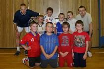 Tomáš Janíček na tréninku minižáků Sportingu Mladá Boleslav