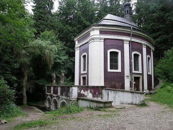 Kaple sv. Stapina na Klokočce.