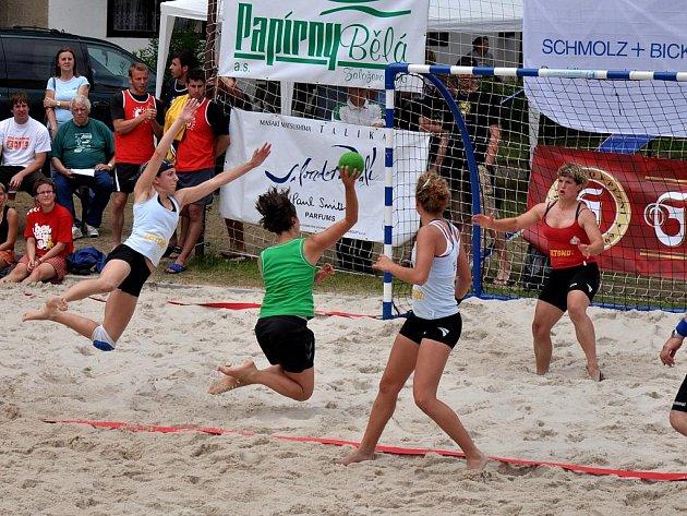 Turnaj v plážové házené Bělá Cup 2009