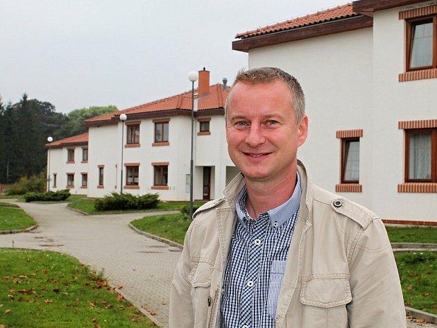 Josef Povolný, ředitel Dětského domova Krnsko