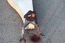 Muž, který se dnes ráno pokusil o sebevraždu