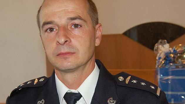 Hasič Jan Rejzek, podílející se společně s dalšími šesti kolegy z HZS Mladá Boleslav na likvidaci povodní.