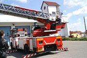Den otevřených dveří u hasičů v Boleslavi