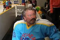 Jedním z aktérů hokejového klání motorkářů byl i Petr Kuchta