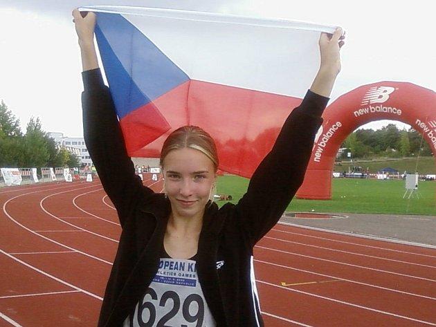 Barbora Zakonovova měla radost oprávněnou.