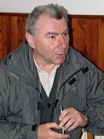 Milan Hradec, předseda dobrovické organizace Českého svazu chovatelů.
