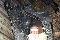 I tak vypadá místo, kde bezdomovci spí při velkých mrazech.