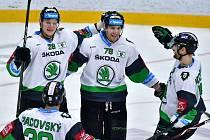 Hokejové Generali play-off, předkolo: BK Mladá Boleslav - PSG Berani Zlín 3:1.