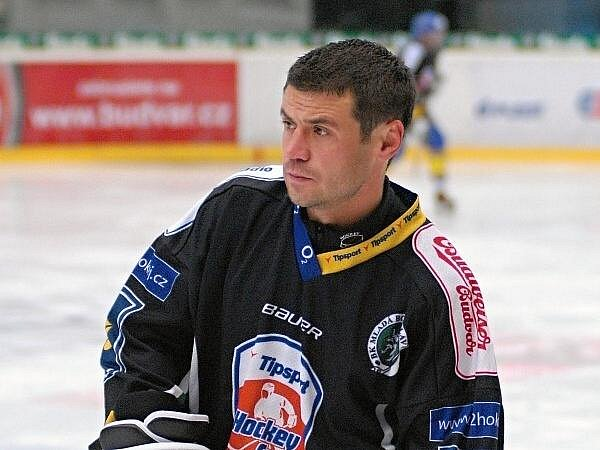 Marek Kulič v hokejové výstroji