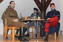 Legionáři otevřeli výstavu v dolnobousovském infocentru