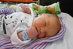 Theodor Šindelář, Veselá. Narodil se 22. června, vážil 3,8 kg a měřil 51 cm.  Maminka Alena a tatínek Rudolf.
