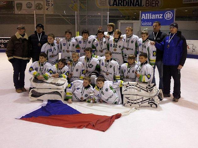 Sedmáci BK Mladá Boleslav na turnaji ve Švýcarsku