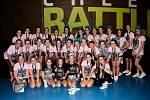 Cheerleadingový tým Black Tigers Cheerleaders vyrazil poslední lednovou sobotu na další soutěž, tentokrát na Evolution Cheer Battle do Prahy. Oddíl pod vedením trenérky Petry Janečkové se představil s celkem sedmi choreografiemi v různých kategoriích, a š