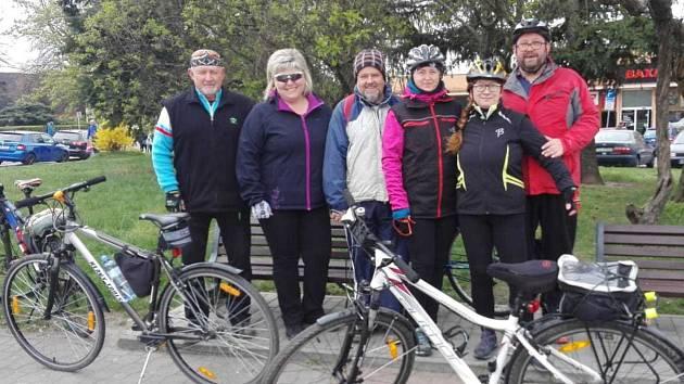 Cyklisté z Benátek otevřeli sezonu