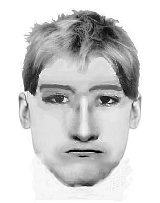 Policistům se podařilo sestavit pravděpodobný portrét mladíka.