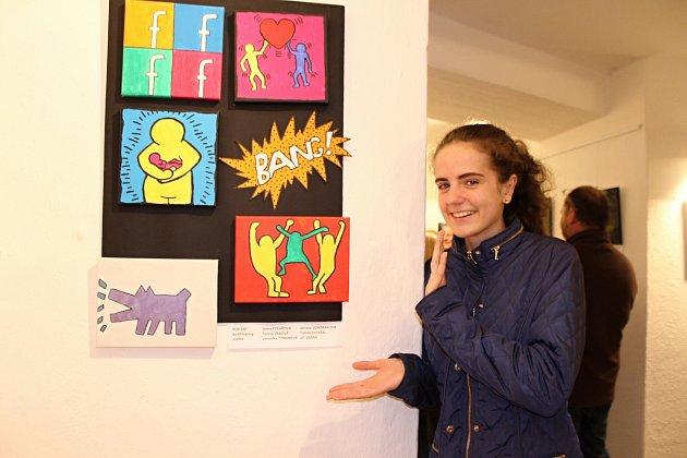 Nadaní studenti boleslavského Gymnázia Dr. Josefa Pekaře vystavují v kosmonoské Loretě.