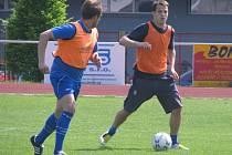 Středeční trénink boleslavských fotbalistů