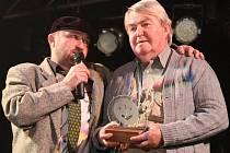 Karel Fousek si z hudební ankety Boleslavský Otík odnesl cenu SÍň slávy 2009.