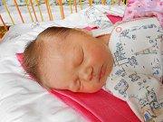 Adélka Hospodářová se narodila 23. května mamince Ivetě a tatínkovi Pavlovi. Vážila 3,74 kg a měřila 50 cm.