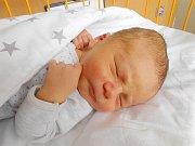 Patrik Skramužský se narodil 22. května, vážil 3,43 kg a měřil 48 cm. Maminka Denisa a tatínek Jakub si ho dovezou domů do Veselé u Mnichova Hradiště.