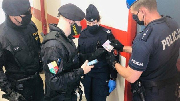 Zatýkání na ubytovně v Mladé Boleslavi