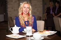 Šárka Hrušková Mejstříková, majitelka kavárny