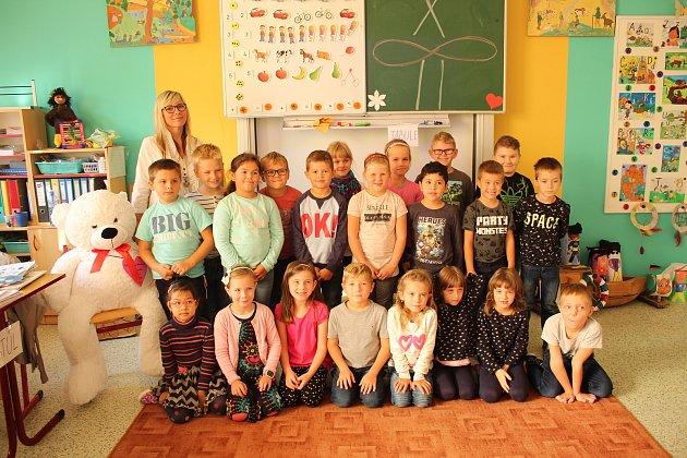Základní škola Benátky nad Jizerou, Pražská 135.Třída 1.B - Paní učitelka Jana Poluhová