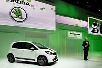 Nová pětidvéřová Škoda Citigo se představila na autosalonu v Ženevě.