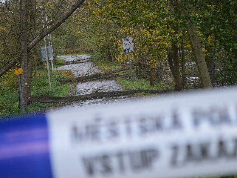 Vichřice na Boleslavsku.