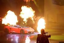 Žhavé Lamborghini Gallardo Super Trofeo Stradale.