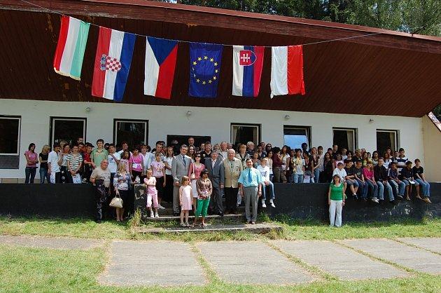 Letní mezinárodní tábor dětí a mládeže z dětských domovů.