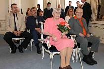 Manželé Cinnerovi z Benátek nad Jizerou oslavili platinovou svatbu - 70 let manželství
