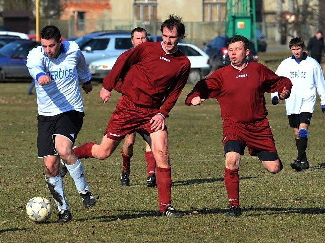 Přátelské utkání: Žerčice - Loučeň