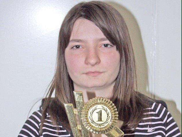 Tenistka Lenka Brůchová.