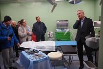Z otevření nového oddělení Chirurgie ruky MUDr. Radka Kebrleho na Klinice Dr. Pírka.