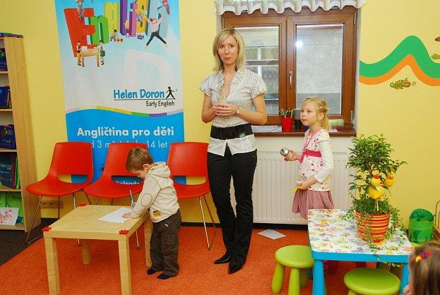Slavnostní zahájení činnosti výukového centra Helen Doron v Mladé Boleslavien Doron