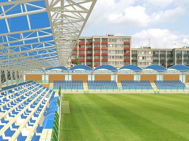 Tak by měla severní tribuna vypadat ...